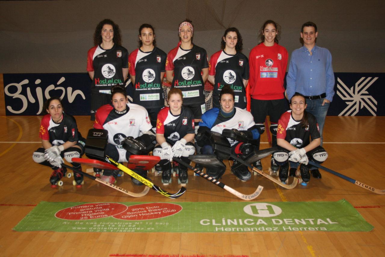 Somos patorcinadores del equipo de Hockey Patines de HostelCur Gijón La Calzada.