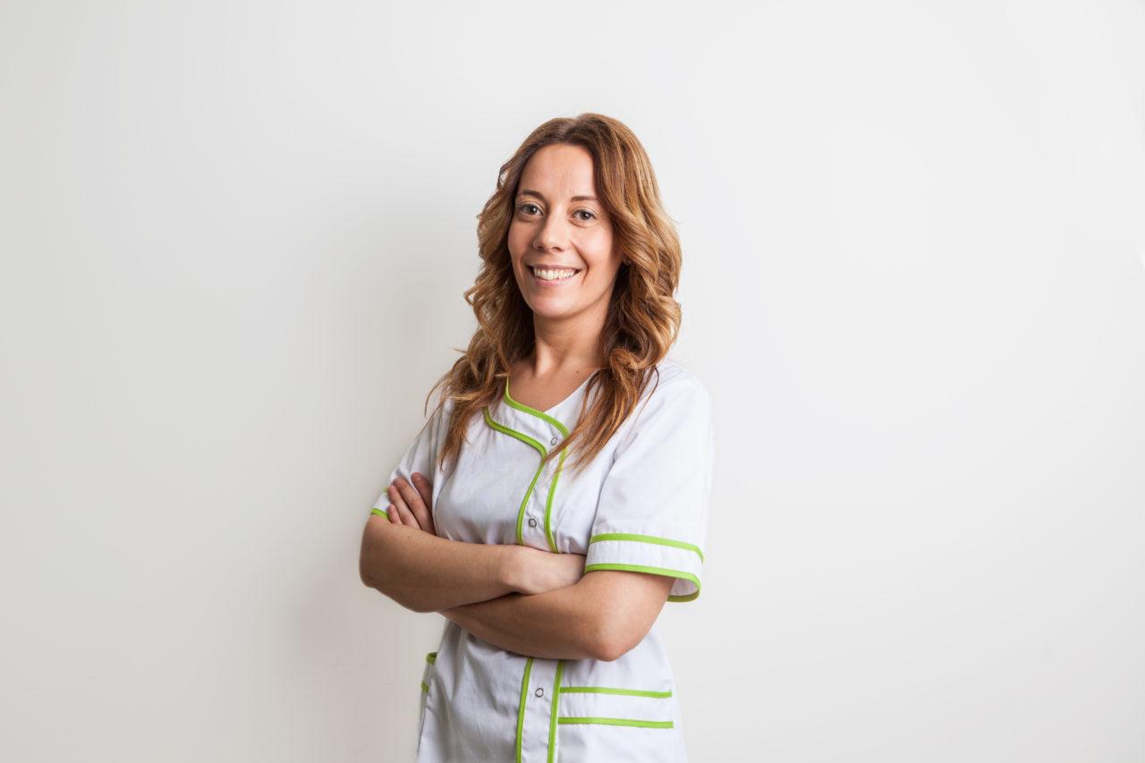 Aróa Pérez: Auxiliar de clínica y atención al paciente