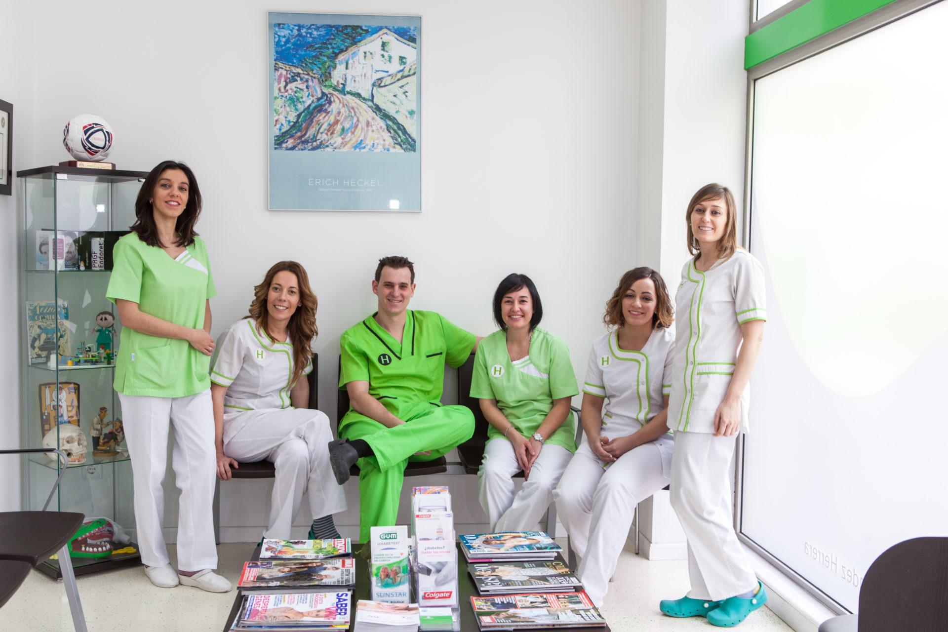 Equipo Clínica Dental Hernández Herrera Gijón