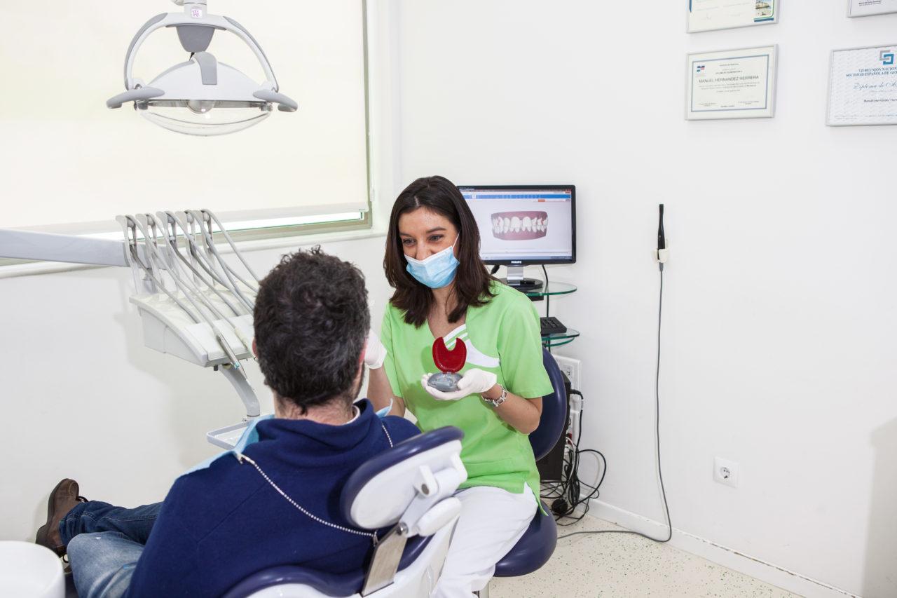 Explicación al paciente de una ortodoncia tradicional