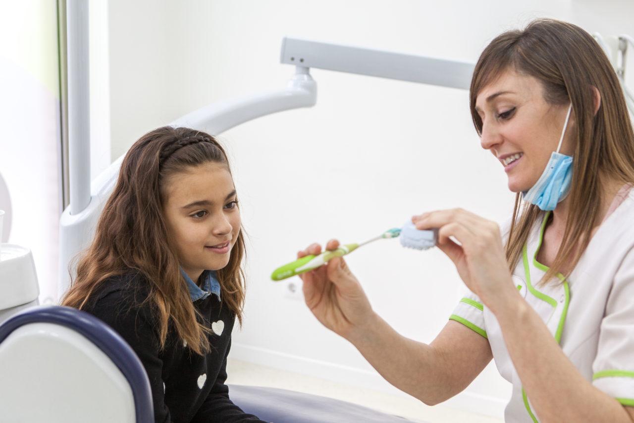 Higiene y salud oral infantil